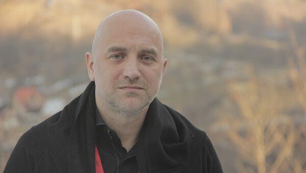Ruski pisac Zahar Prilepin - Sputnik Srbija