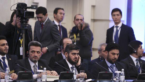 Сиријска опозиција на преговорима у Астани, Казахстан. - Sputnik Србија