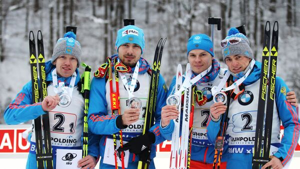 Руска репрезентација у биатлону - Sputnik Србија