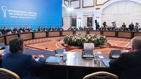 Sirijski pregovori u Astani - Sputnik Srbija