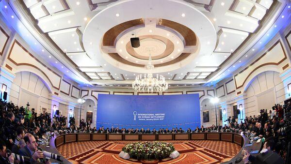 Sirijski pregovori u Astani, Kazahstan, 23. januara - Sputnik Srbija