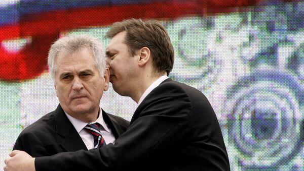 Александар Вучић и Томислав Николић - Sputnik Србија
