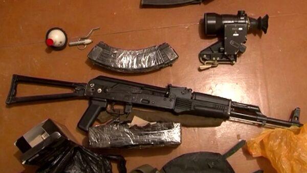 Оружје и муниција заплењени од терориста - Sputnik Србија
