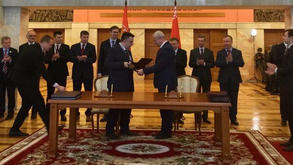 У Минску је потписано више међудржавних споразума - Sputnik Србија
