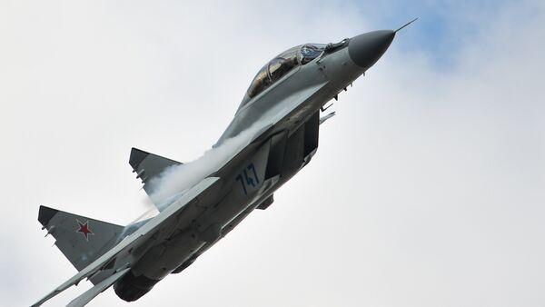 Авион МиГ-35 на аеро-митингу у Жуковском - Sputnik Србија
