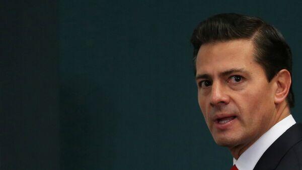 Председник Мексика Енрике Пења Нијето у председничкој резиденцији у Мексико Ситију - Sputnik Србија