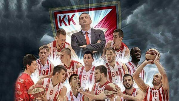 Постер КК Црвена звезда - Sputnik Србија