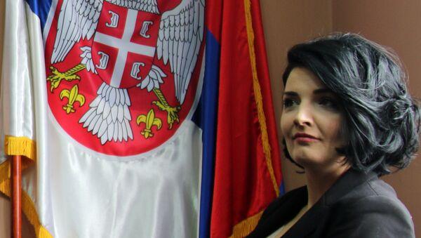 Милена Ивановић , супруга Оливера Ивановића - Sputnik Србија