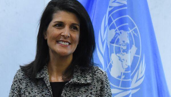 Stalna predstavnica SAD pri Ujedinjenim nacijama Niki Hejli - Sputnik Srbija