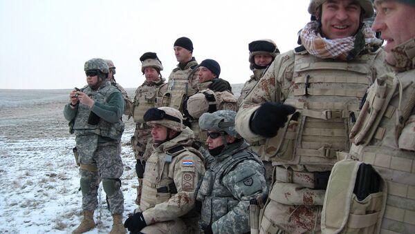 Војници САД и Хрватске на заједничким војним вежбама-архивска фотографија - Sputnik Србија