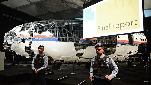 Izveštaj holandske komisije o uzrocima pada aviona Boing 777 na liniji MH17 - Sputnik Srbija