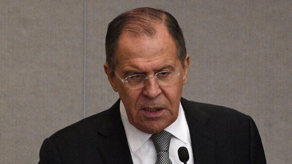 Šef diplomatije Sergej Lavrov - Sputnik Srbija