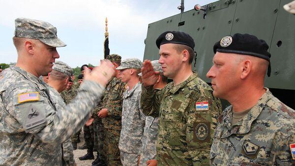 Hrvatska i američka vojska - Sputnik Srbija