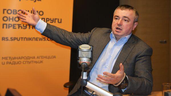Potpredsednik SPS-a Dušan Bajatović - Sputnik Srbija
