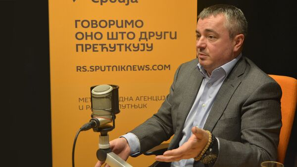 Потпредседник СПС-а Душан Бајатовић - Sputnik Србија