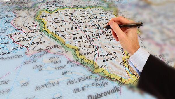 Mapa BiH - Sputnik Srbija