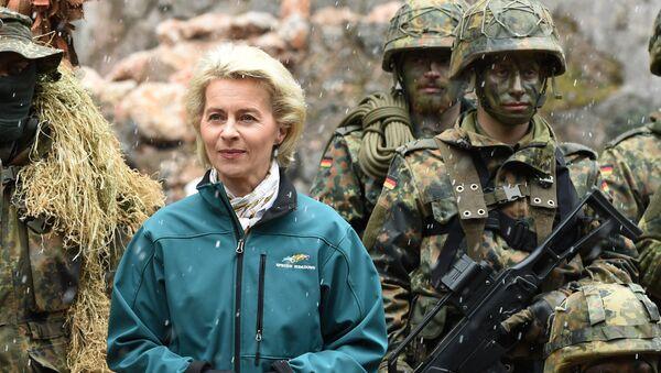Ministraka odbrane Nemačke Ursula fon der Lejen - Sputnik Srbija