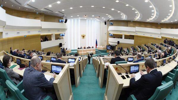 Sednica Saveta federacije Rusije - Sputnik Srbija