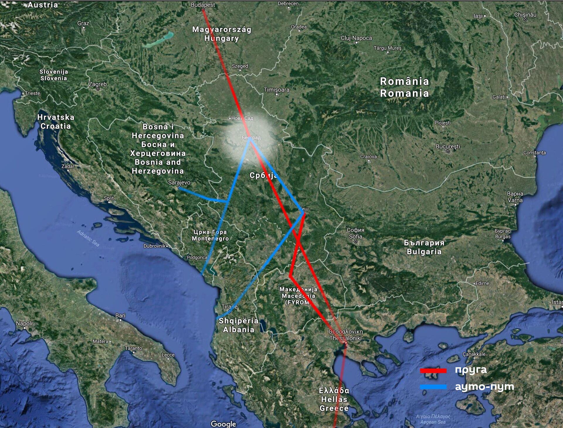 Изненадна шанса из Брисела: Србија постаје најбржа веза до срца Европе - Sputnik Србија, 1920, 26.04.2021