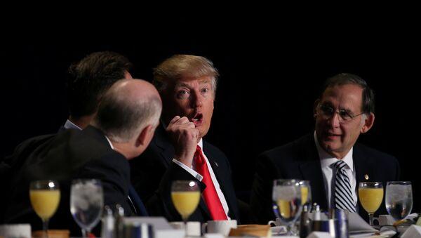 Predsednik SAD Donald Tramp na Molotvenom doručku - Sputnik Srbija