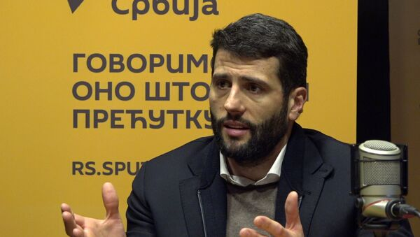Aleksandar Šapić, predsednik opštine Novi Beograd - Sputnik Srbija