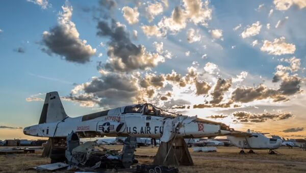 Groblje aviona u Arizoni - Sputnik Srbija