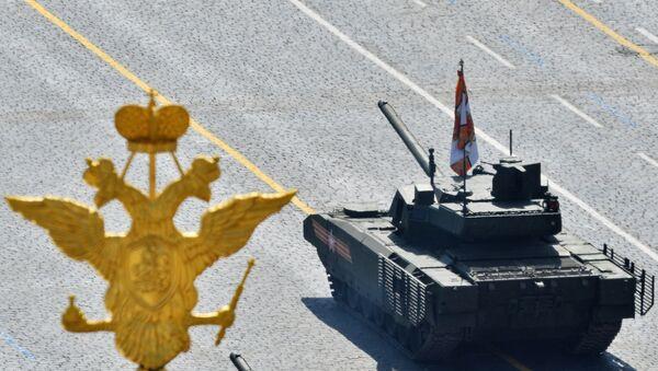 Tenk T-14 Armata na vojnoj paradi povodom obeležavanja Dana pobede u Moskvi - Sputnik Srbija