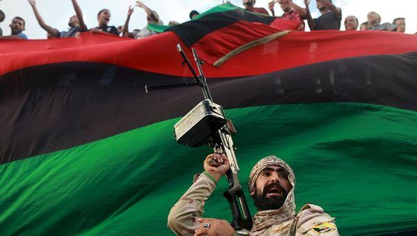 Либијски војник - Sputnik Србија
