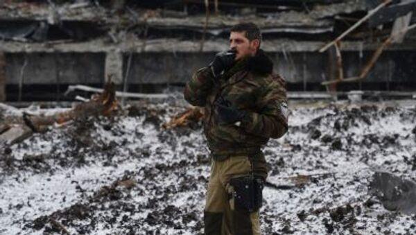 Ополченец Донецкой народной республики - Sputnik Србија