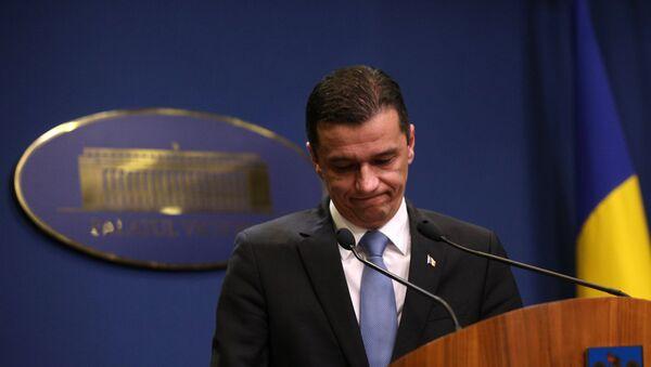 Premijer Rumunije Sorin Grindeanu - Sputnik Srbija