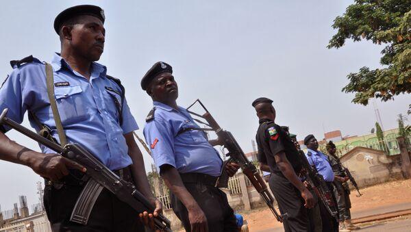 Policija Nigerije u Abudži - Sputnik Srbija