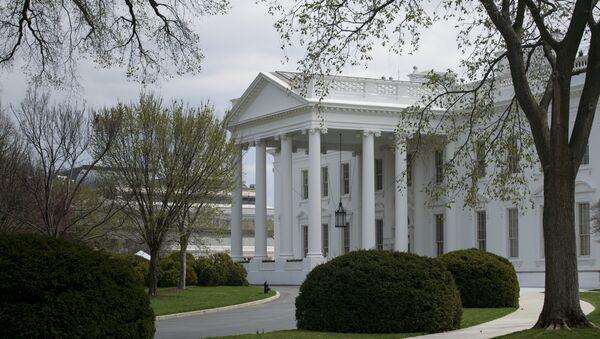 Улаз у Белу кућу у Вашингтону - Sputnik Србија