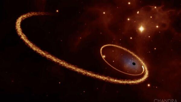 Crna rupa proždire zvezdu - Sputnik Srbija