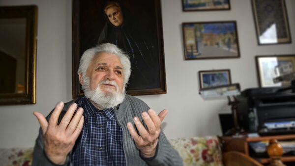 Univerzitetski profesor u penziji, ipođakon Andrej Tarasjev - Sputnik Srbija