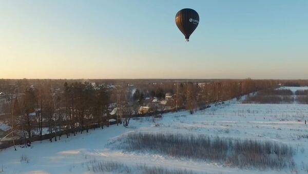 Лет балоном Фјодора Коњухова - Sputnik Србија