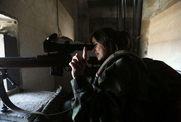 """Ponos Sirije: Lepe """"lavice"""" čuvaju Damask! - Sputnik Srbija"""