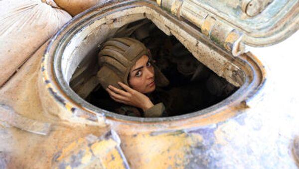 """Ponos Sirije: Lepe """" lavice"""" čuvaju Damask! - Sputnik Srbija"""
