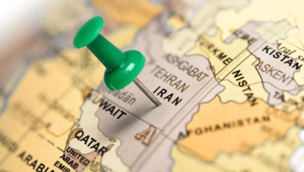 Karta Bliskog istoka - Iran - Sputnik Srbija