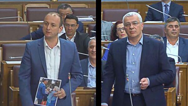 Милан Кнежевић и Андрија Мандић - Sputnik Србија