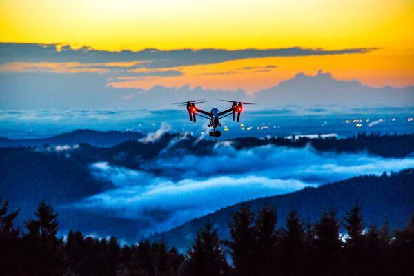 Kад се дронови користе за уметност а не за рат настају задивљујуће фотографије - Sputnik Србија