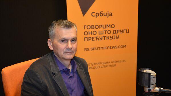 Милан Стаматовић, председник Општине Чајетина - Sputnik Србија
