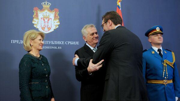 Prijem povodom Dana državnosti u Predsedništvu Srbije - Sputnik Srbija