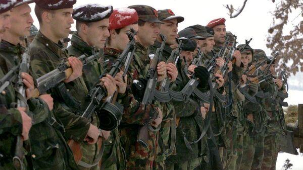 Pripadncni terorističke organizacije OVK - Sputnik Srbija