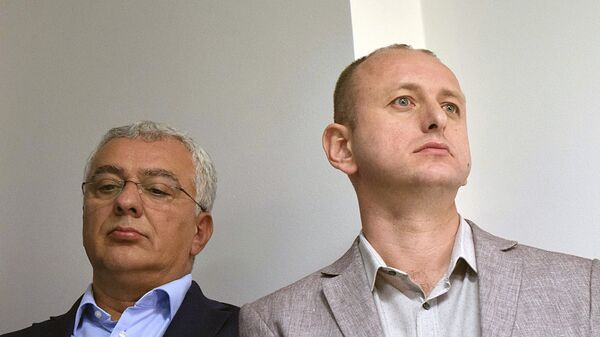 Андрија Мандић и Милан Кнежевић  - Sputnik Србија