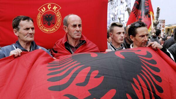 Pristalice i podržavaoci OVK-a - Sputnik Srbija