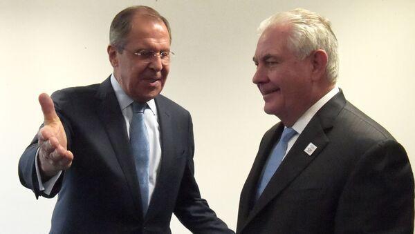 Sergej Lavrov i Reks Tilerson u Bonu - Sputnik Srbija