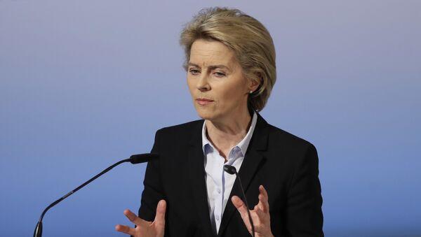 Ministraka odbrane Nemačke Ursula fon der Lejen / - Sputnik Srbija