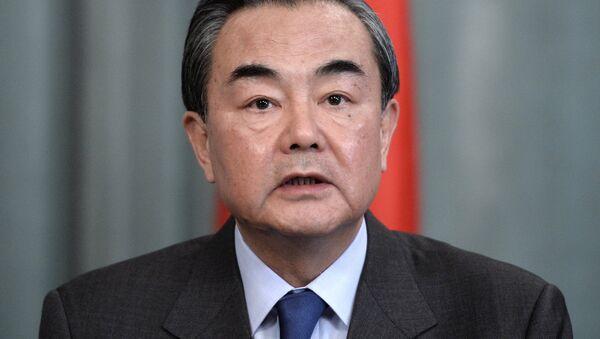 Министар иностраних послова Кине Ван Ји - Sputnik Србија