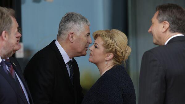Dragan Ćović i Kolinda Grabar Kitarović - Sputnik Srbija