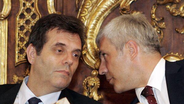 Vojislav Koštunica i Boris Tadić - Sputnik Srbija